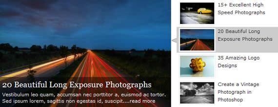 45+ Jquery plugin per visualizzare le immagini in modo dinamico