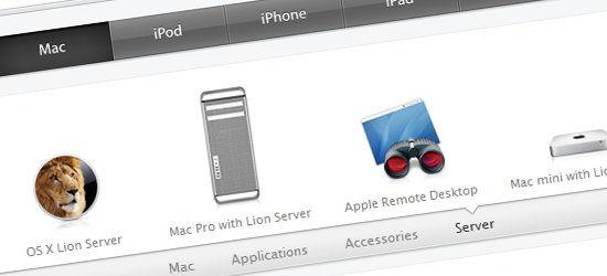 Menu scorrimento effetto easing in stile Mac