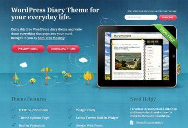 25 Temi gratuiti WordPress per designer