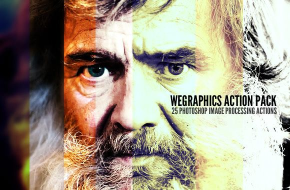 25 Photoshop Actions Gratuite