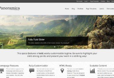 Tema WordPress gratuito con un layout completamente liquido