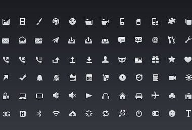 20 nuovi Icon set per Web Designer