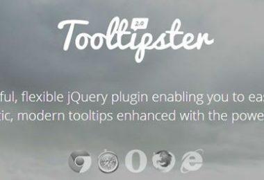 Mostrare suggerimenti rapidi con Tooltipster