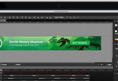 Google Web Designer: one idea, any screen in HTML5