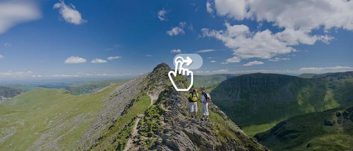 jQuery Panorama Viewer: creare un effetto panoramico a 360 gradi