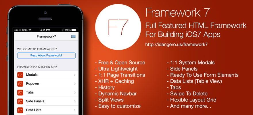 Creare app per il web che emulino il design di ios 7 for App per design