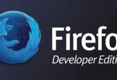Il Browser realizzato per lo sviluppatore Web – Firefox Developer Edition