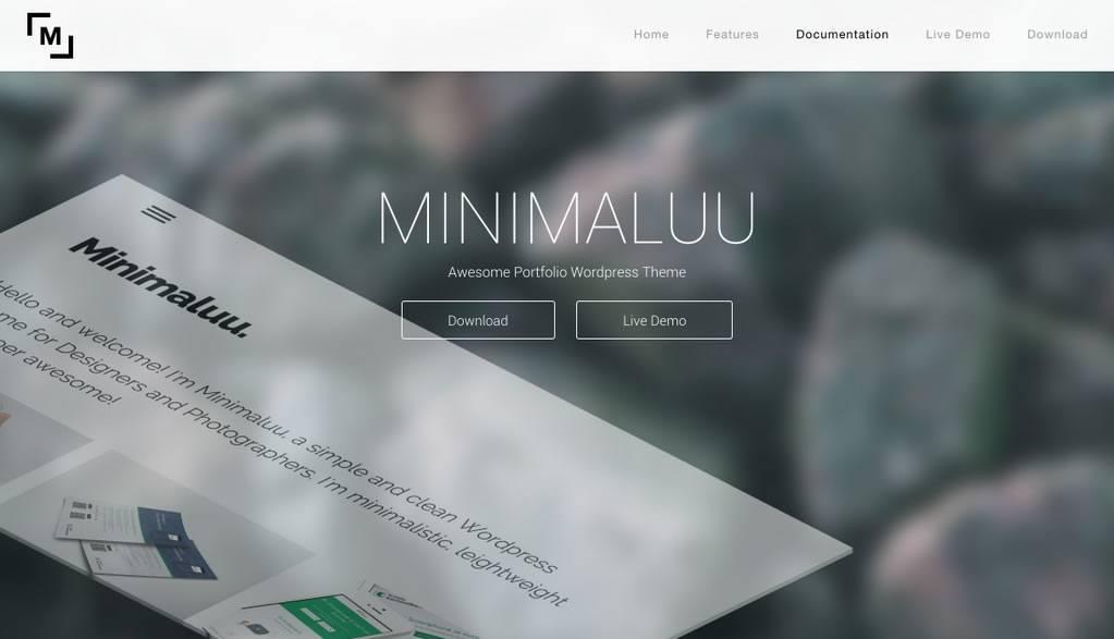 Template WordPress Responsive Free – Minimaluu