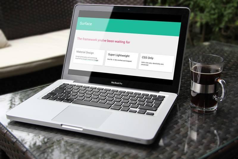 Material Design Web UI Framework