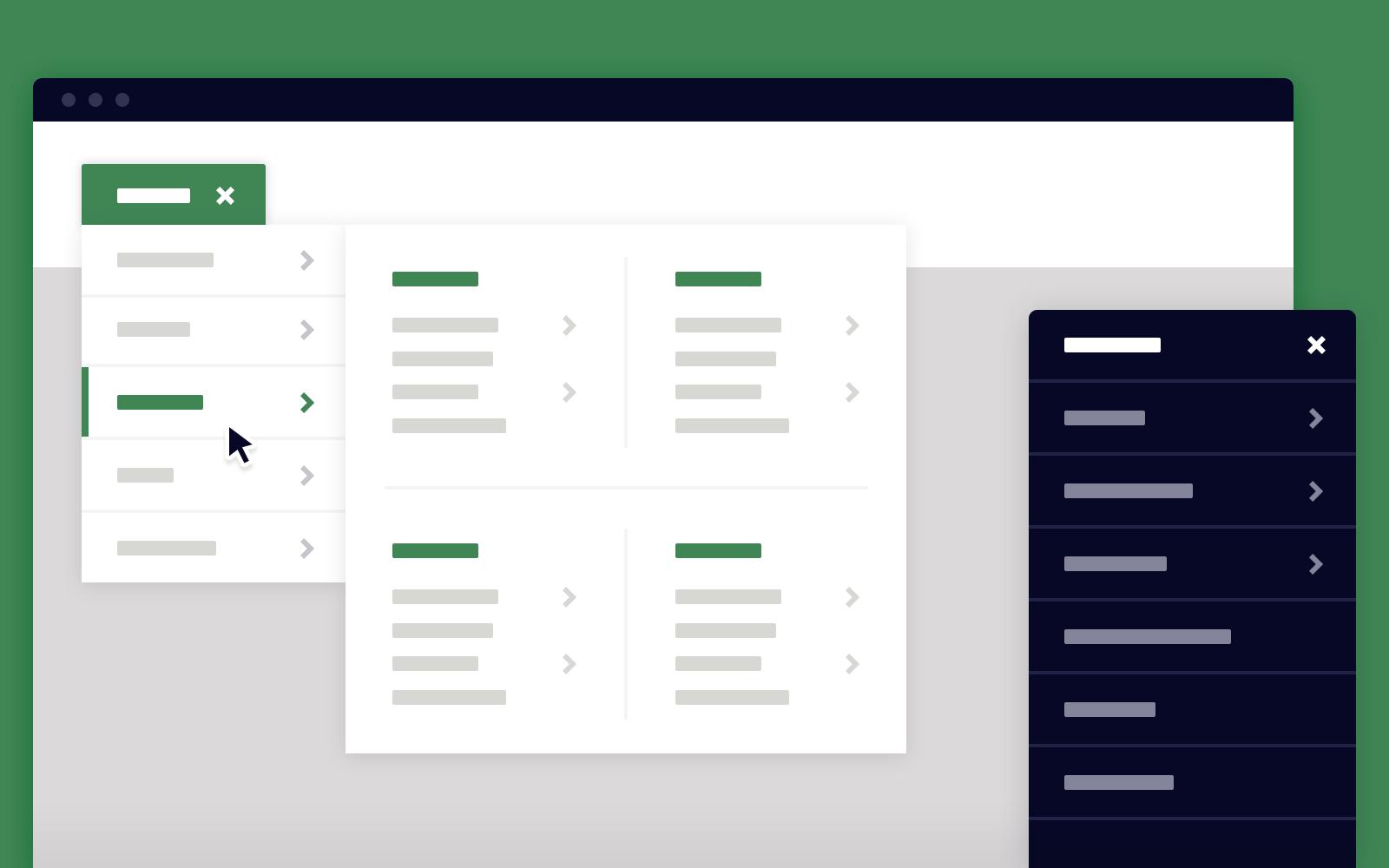 Dropdown menu css. Un componente responsive e facile da personalizzare