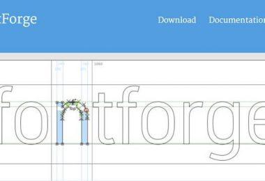 Font editor gratuito per realizzare set di caratteri personalizzati