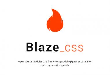 BlazeCSS, un CSS framework all'avanguardia