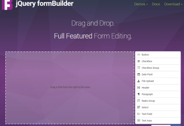 Form HTML drag & drop con FormBuilder