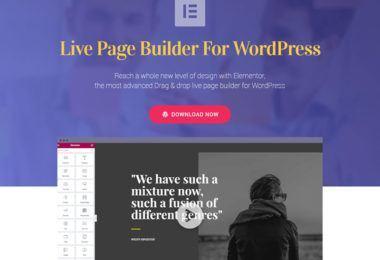 Live Page Builder plugin per WordPress