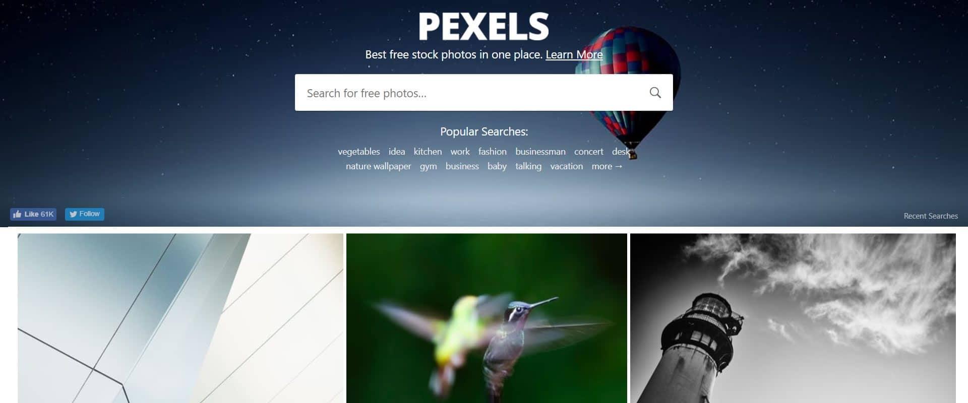 pexels foto alta risoluzione
