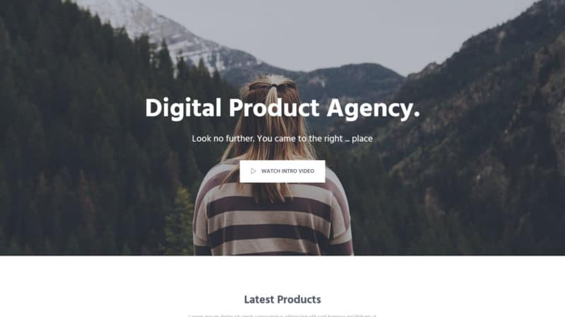 aironepage template bootstrap