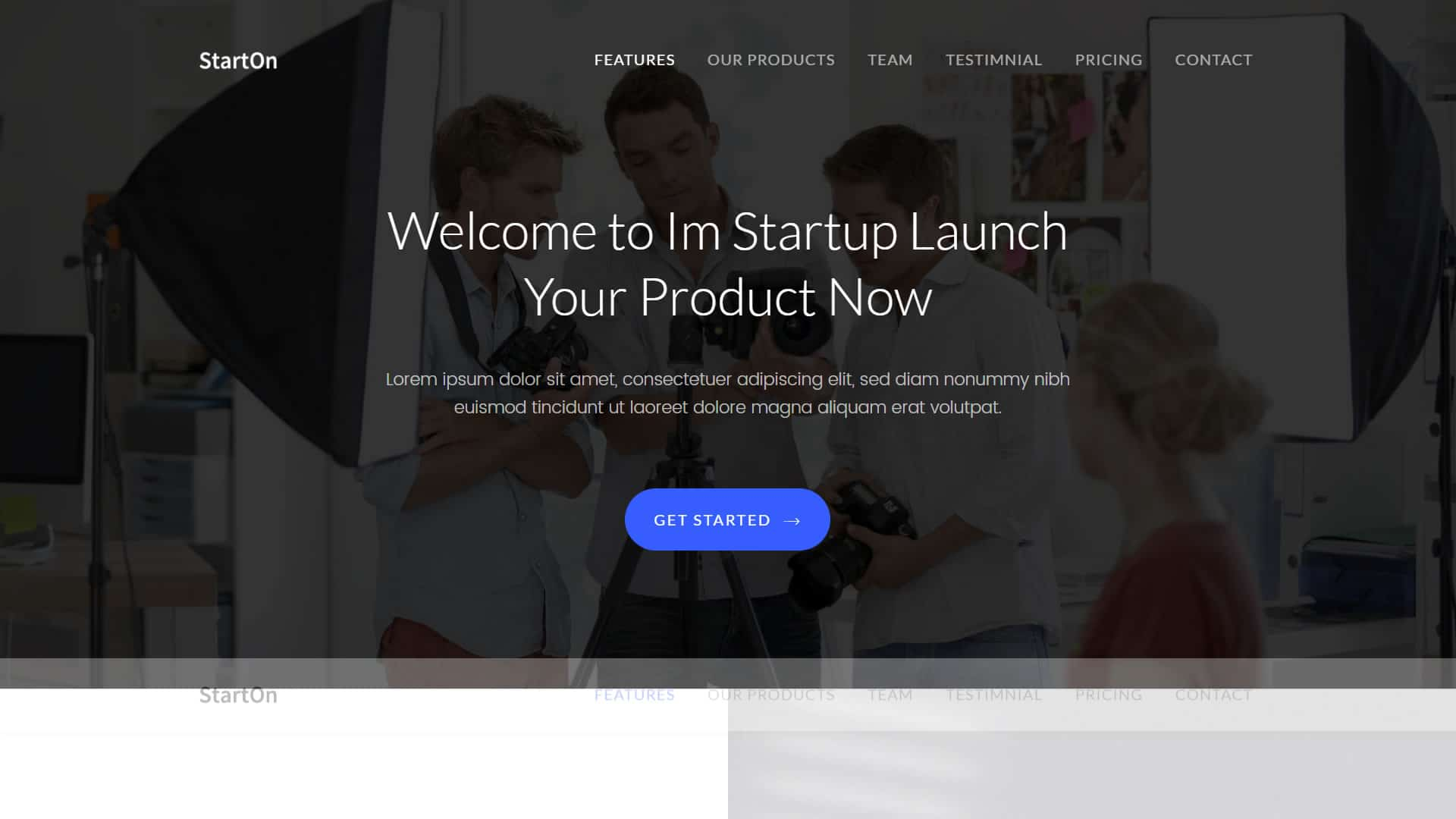 template startup free