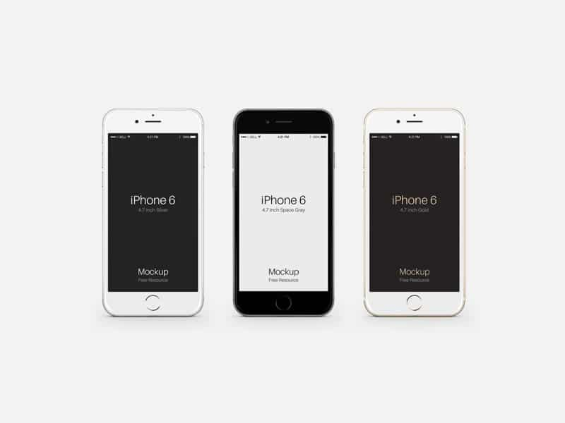 iphone 6 psd free