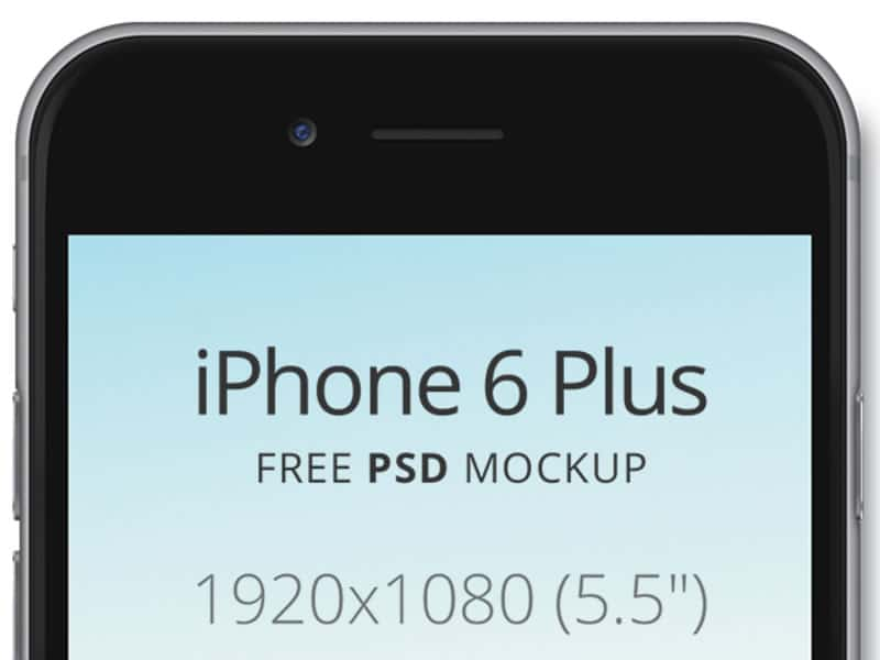 iphone6 mockup psd