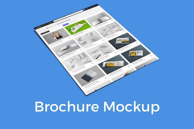 Risultati professionali per il design con Brochure Mockup