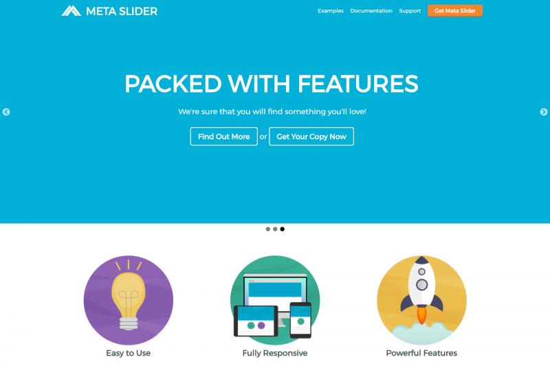 metaslider slideshow plugin