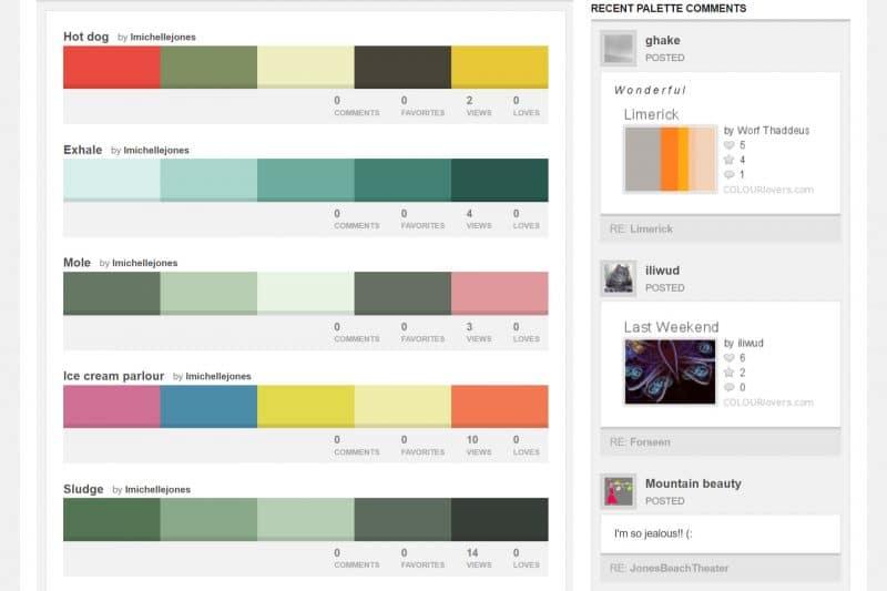 Palette Colori, come creare quella giusta con i tool migliori