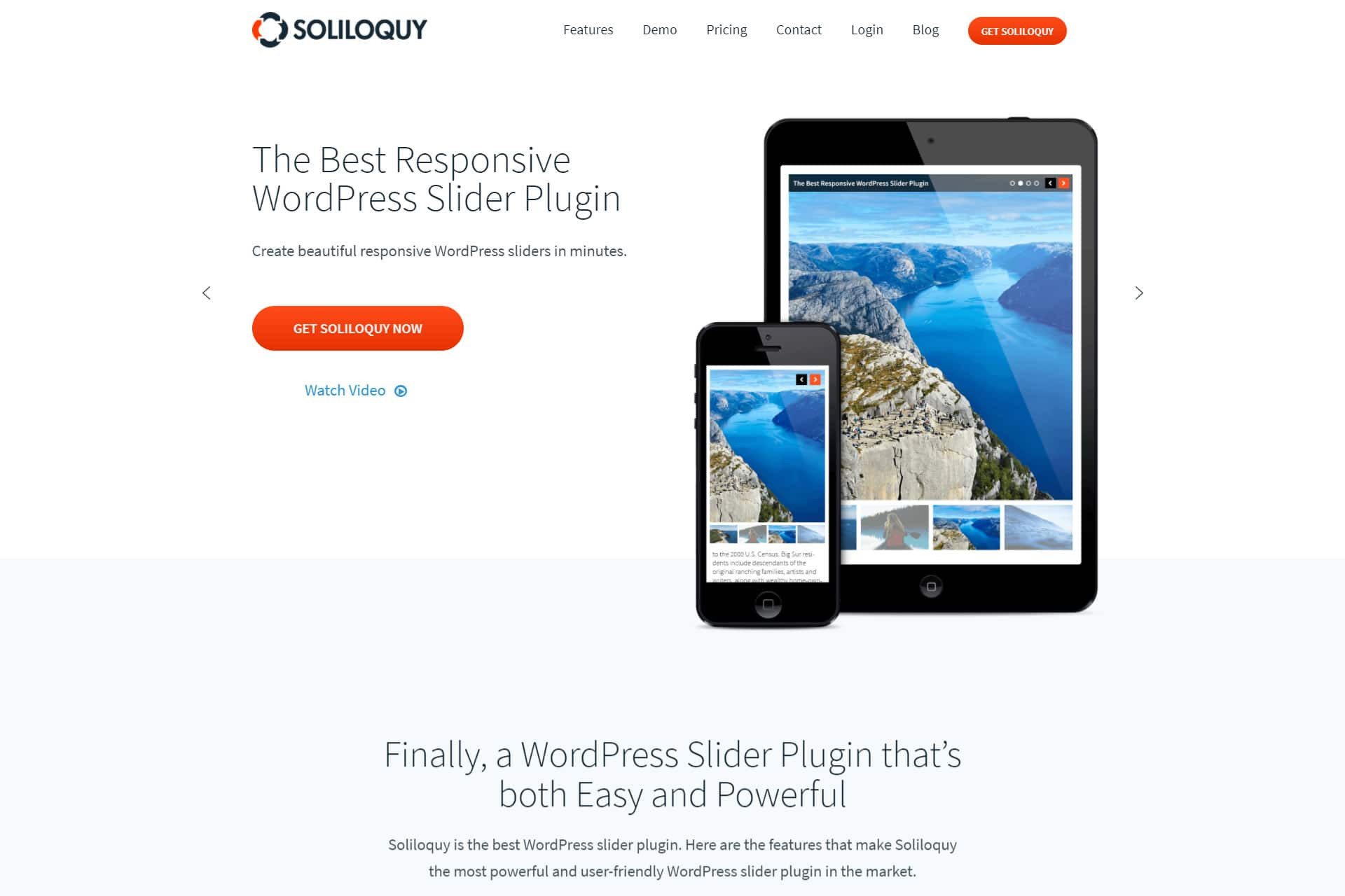 soliloquy wordpress slideshow