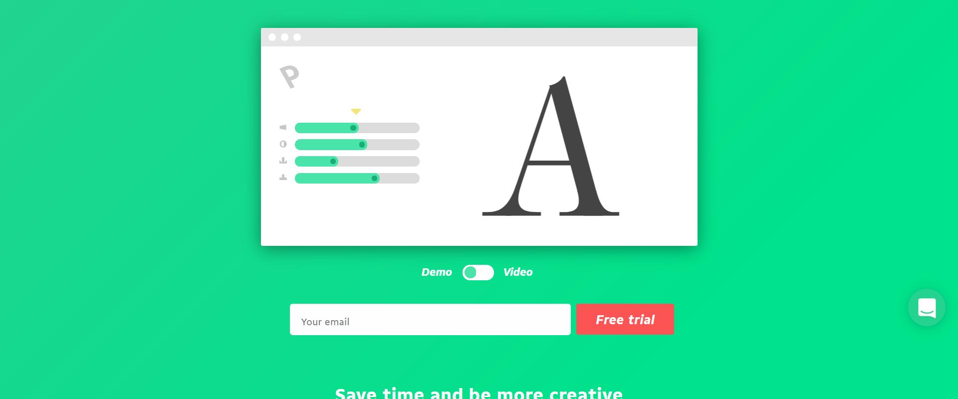 creare font