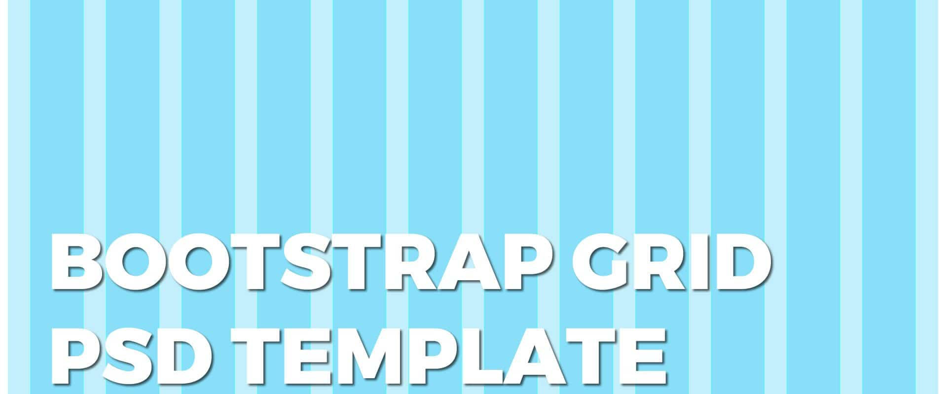bootstrap-grid-tempate-psd